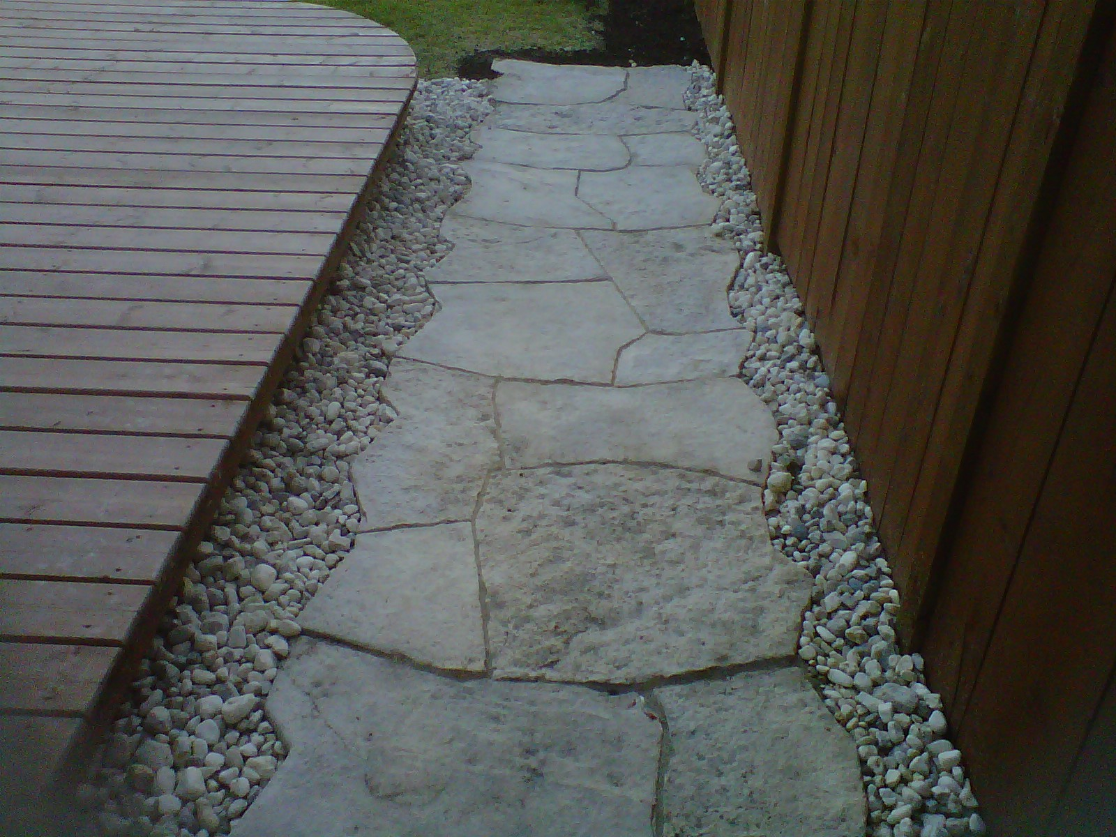 Res Paving Stone Sidewalk 03
